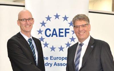 Heiko Lickfett elected Secretary General of CAEF The European Foundry Association