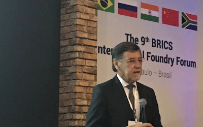 CAEF rep­res­en­ted at the 9th Inter­na­tional BRICS Foundry Forum 2019